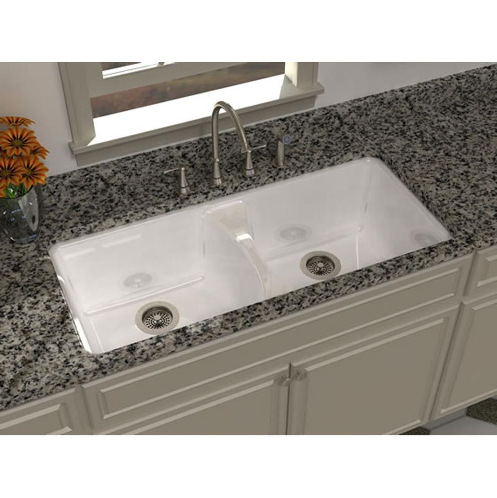 Undermount Kitchen Sink With Faucet Holes | Sinks Kitchen Sinks Undermount East Lawn Supply Nazareth
